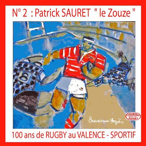 Jean-Pierre CHEVASSUS-AGNES, RUGBY ZOUZE, Sport, Menschen: Mann, expressiver Realismus