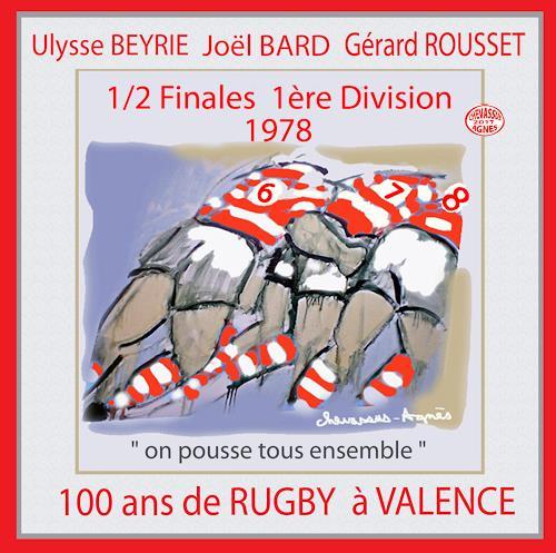 Jean-Pierre CHEVASSUS-AGNES, RUGBY HISTORY 1978, Sport, Menschen: Mann, expressiver Realismus