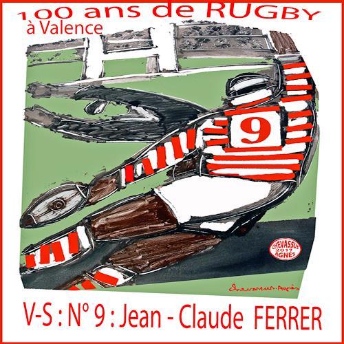 Jean-Pierre CHEVASSUS-AGNES, RUGBY HISTORY FERRER, Sport, Menschen: Mann, expressiver Realismus
