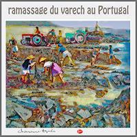 Jean-Pierre-CHEVAssUS-AGNES-Landschaft-Strand-Landschaft-Sommer-Moderne-expressiver-Realismus