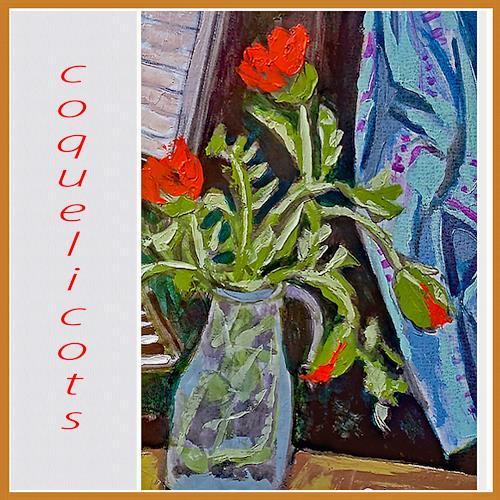 Jean-Pierre CHEVASSUS-AGNES, FLOWERS, Pflanzen: Blumen, Musik: Instrument, expressiver Realismus