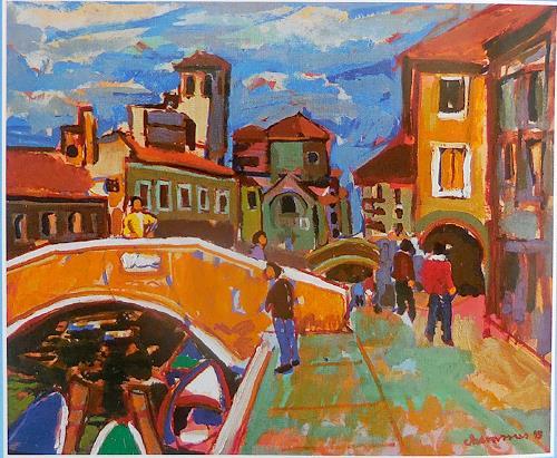 Jean-Pierre CHEVASSUS-AGNES, CHIOGGIA  ITALY, Architektur, Bauten: Haus, expressiver Realismus, Expressionismus