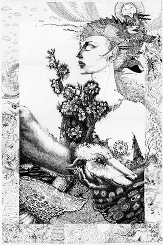 Galina Lukshina, Queen, Symbol, Symbolismus, Expressionismus