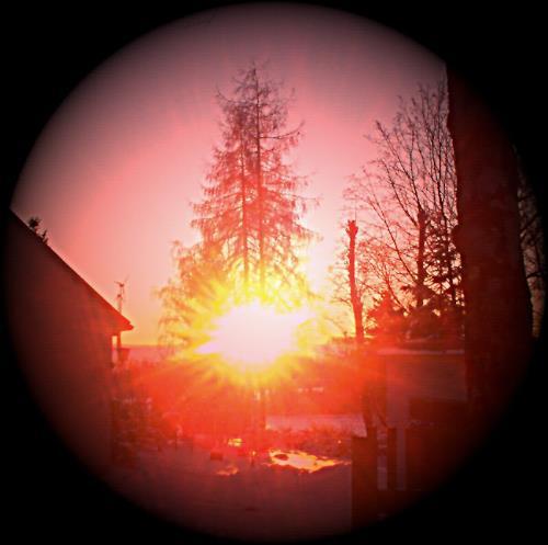 Evelin König, Sonnenaufgang, Natur: Erde, Fotorealismus