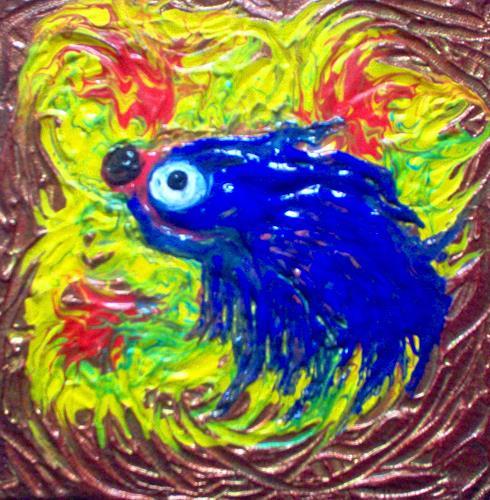 Evelin König, Tintenfisch, Dekoratives