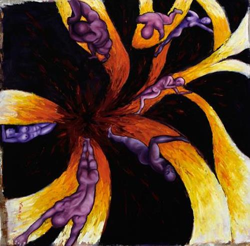 viale susanna, Big Bang umano, Symbol, Menschen: Gruppe, Neo-Expressionismus