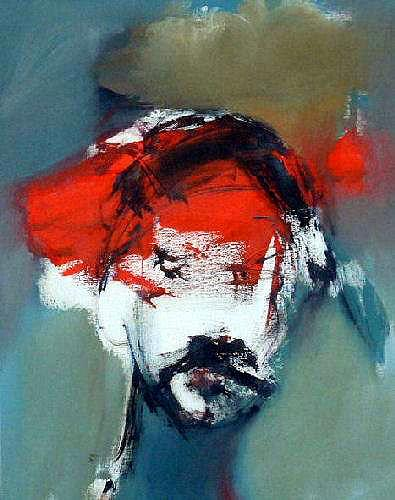 Shefqet Avdush Emini, 13.untitled, Menschen: Porträt, Expressionismus
