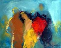 Shefqet-Avdush-Emini-Menschen-Gesichter-Moderne-Expressionismus