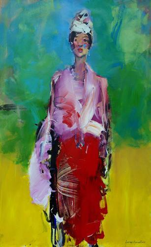 Shefqet Avdush Emini, 3,untitled, Menschen: Porträt, expressiver Realismus, Expressionismus