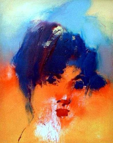 Shefqet Avdush Emini, 11.untitled, Menschen: Porträt, Expressionismus