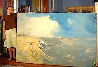 Andrey-Bogoslowsky-Landschaft-See-Meer-Freizeit-Moderne-Expressionismus