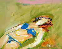 Andrey-Bogoslowsky-Menschen-Frau-Natur-Erde-Moderne-Impressionismus