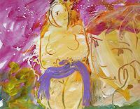 Andrey-Bogoslowsky-Gefuehle-Liebe-Menschen-Paare-Gegenwartskunst--Neo-Expressionismus