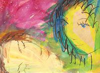 Andrey-Bogoslowsky-Gefuehle-Freude-Menschen-Paare-Gegenwartskunst--Neo-Expressionismus