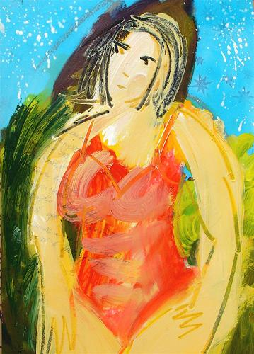 Andrey Bogoslowsky, made out of sturdust., Gefühle: Stolz, Menschen: Frau, NS-Kunst