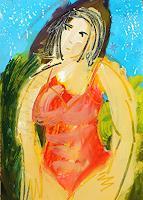 Andrey-Bogoslowsky-Gefuehle-Stolz-Menschen-Frau-Moderne-NS-Kunst