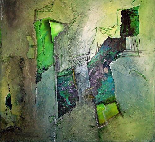 barbara banthau, o.T., Abstraktes, Moderne, Abstrakter Expressionismus