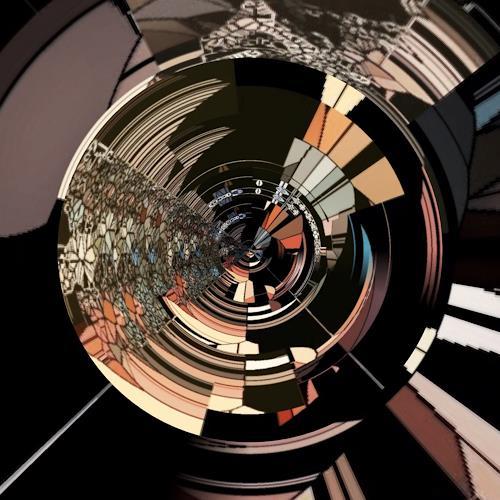barbara banthau, Digital bead, Dekoratives, Wohnen, Abstrakte Kunst, Abstrakter Expressionismus