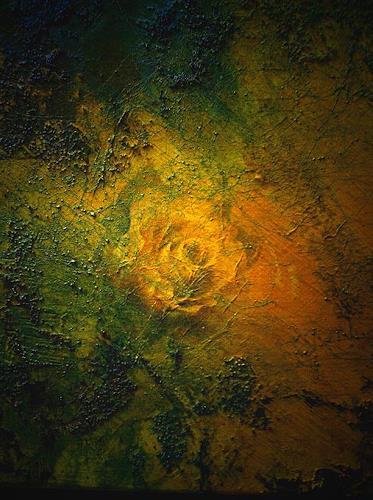 barbara banthau, gelbe Rose, Abstraktes, Moderne