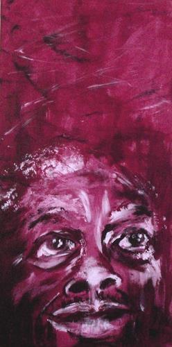 Carmen Kroese, Hoffnung, Menschen: Gesichter, Diverse Gefühle, Gegenwartskunst