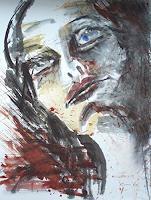 Carmen-Kroese-Menschen-Frau-Menschen-Gesichter-Gegenwartskunst-Gegenwartskunst