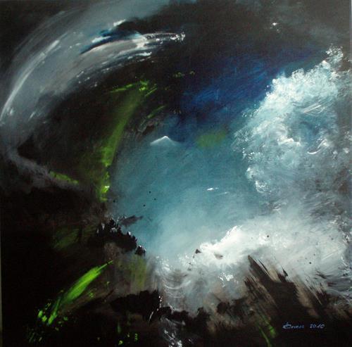 Carmen Heidi Kroese, Turbulenzen, Abstraktes, Bewegung, Gegenwartskunst, Abstrakter Expressionismus