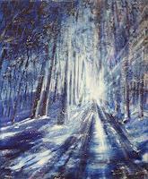 Carmen-Kroese-Natur-Erde-Landschaft-Winter-Gegenwartskunst--Gegenwartskunst-