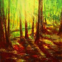Carmen-Kroese-Natur-Wald-Pflanzen-Baeume-Gegenwartskunst--Gegenwartskunst-