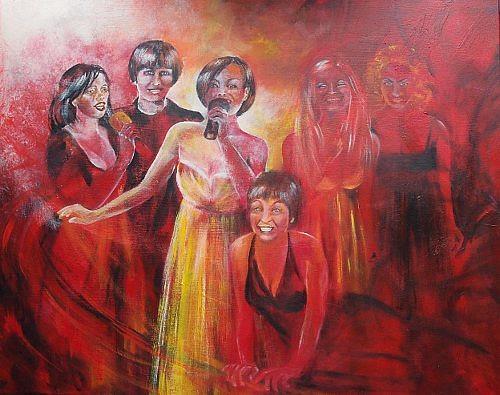 Carmen Kroese, Cantatrices, Menschen: Gruppe, Musik: Konzert, Gegenwartskunst