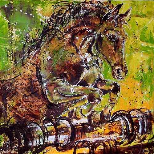Carmen Kroese, Adonka, Tiere: Land, Freizeit, Gegenwartskunst, Expressionismus