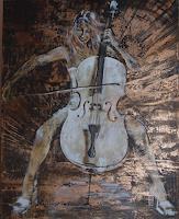 Carmen-Kroese-Menschen-Frau-Musik-Instrument-Gegenwartskunst-Gegenwartskunst