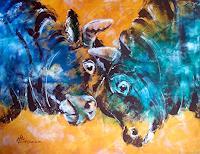 Carmen-Kroese-Tiere-Land-Natur-Erde-Gegenwartskunst-Gegenwartskunst