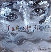 Carmen-Kroese-Menschen-Gesichter-Diverse-Gefuehle-Gegenwartskunst-Gegenwartskunst