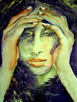 Carmen-Kroese-Gefuehle-Trauer-Menschen-Gesichter-Gegenwartskunst-Gegenwartskunst