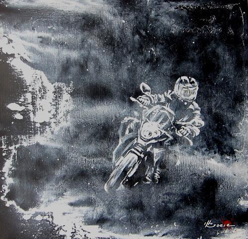Carmen Kroese, o.T, Menschen, Sport, Gegenwartskunst, Abstrakter Expressionismus