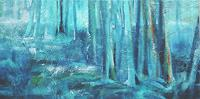 Carmen-Heidi-Kroese-Natur-Wald-Landschaft-Winter-Gegenwartskunst-Gegenwartskunst