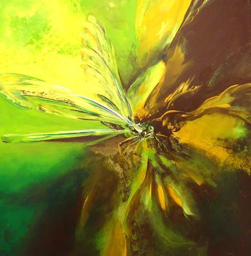 Carmen Heidi Kroese, verlorene Insekten, Tiere: Luft, Tiere: Wasser, Gegenwartskunst, Expressionismus
