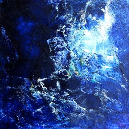 Carmen Heidi Kroese, Schätze der Dunkelheit, Natur: Gestein, Natur: Erde, Gegenwartskunst, Expressionismus
