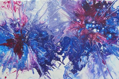 Carmen Heidi Kroese, Dynamik, Pflanzen: Blumen, Abstraktes, expressiver Realismus, Abstrakter Expressionismus