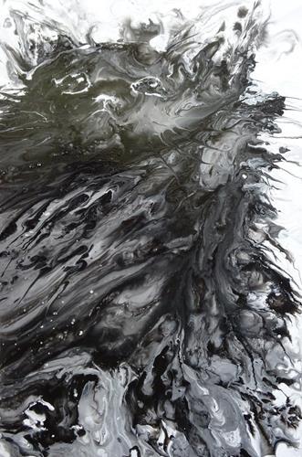 Carmen Heidi Kroese, I am not amused, Tiere: Land, Abstraktes, expressiver Realismus