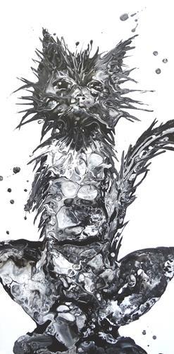 Carmen Heidi Kroese, Philosoph, Tiere: Land, Humor, expressiver Realismus, Abstrakter Expressionismus