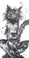 Carmen-Heidi-Kroese-Tiere-Land-Humor-Moderne-expressiver-Realismus