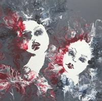Carmen-Heidi-Kroese-Menschen-Frau-Menschen-Gesichter-Moderne-expressiver-Realismus
