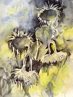 Carmen-Kroese-Pflanzen-Blumen-Moderne-Andere-Neue-Figurative-Malerei