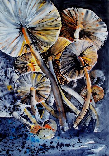 Carmen Heidi Kroese, Pilze, Natur: Diverse, Expressionismus