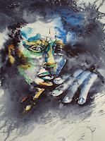 Carmen-Kroese-Diverse-Gefuehle-Menschen-Gesichter-Gegenwartskunst-Gegenwartskunst