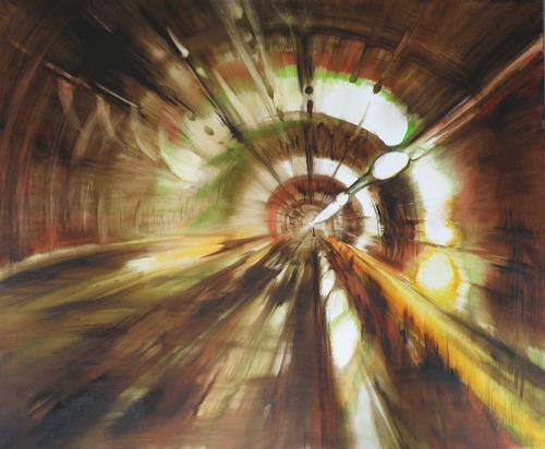 Carmen Kroese, Metro, Diverse Bauten, Architektur, Gegenwartskunst, Abstrakter Expressionismus