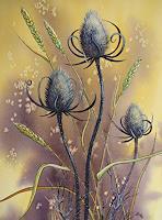 Kerstin-Birk-Diverse-Pflanzen-Stilleben-Neuzeit-Realismus