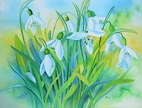 Kerstin-Birk-Pflanzen-Blumen-Zeiten-Fruehling-Neuzeit-Realismus