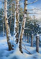 Kerstin-Birk-Landschaft-Winter-Pflanzen-Baeume-Neuzeit-Realismus